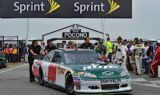 No. 88 team at Pocono