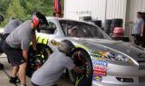 Chase and Bill Elliott practice pit stops