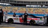 No. 88 team at the track
