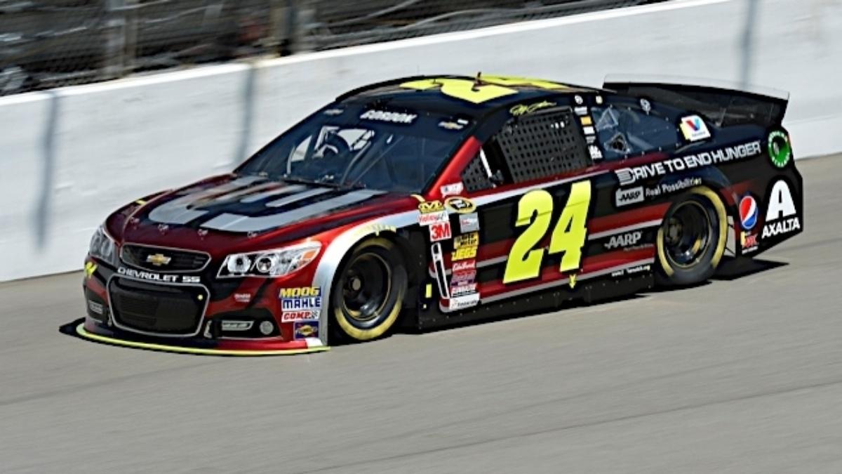 Gordon, Earnhardt, Johnson qualify in top seven at Michigan