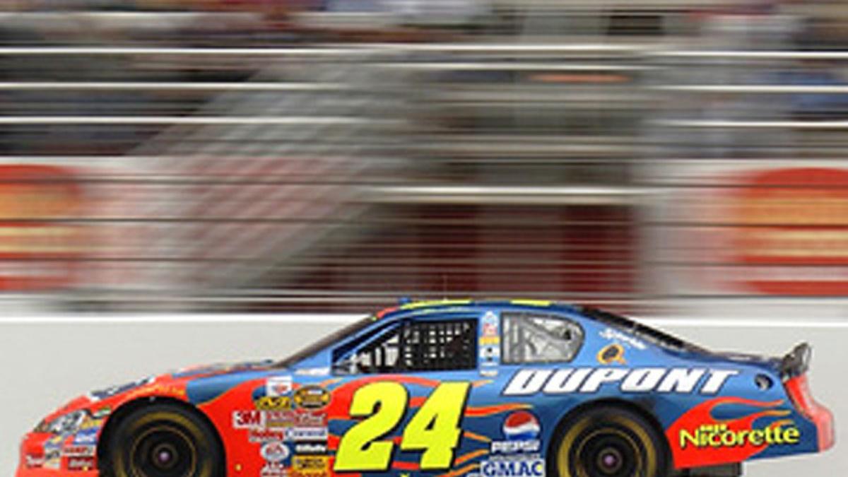 Gordon Could Tie Earnhardt, Schumacher at Indy