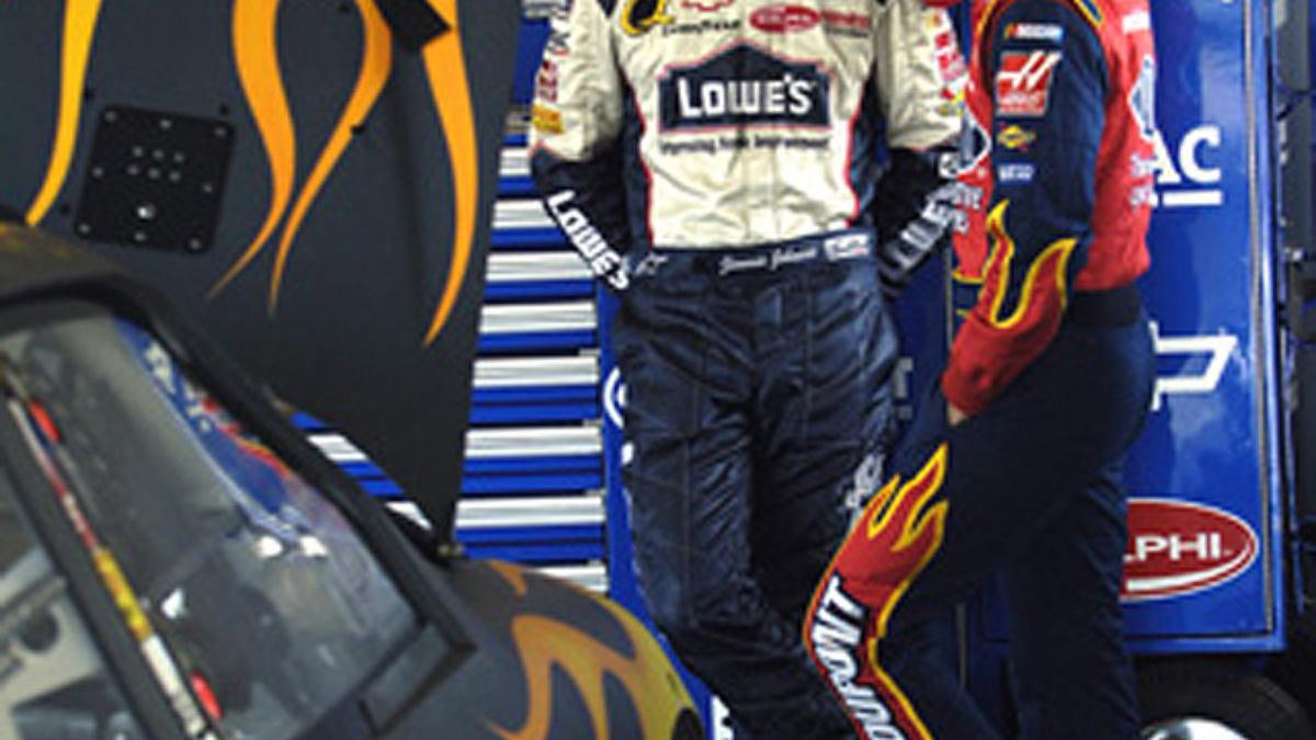 Johnson Gearing Up for '06 at Daytona Testing