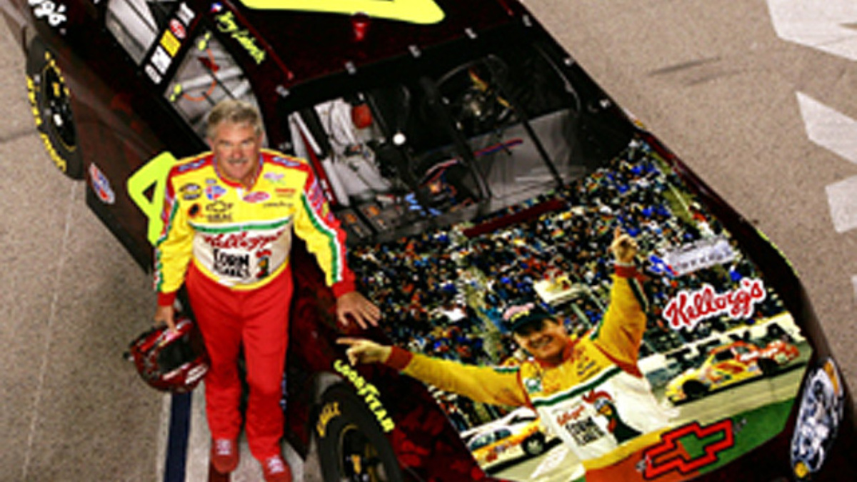 Terry Labonte Surprised with 'Tribute Car'