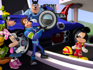 Johnson, Gordon gear up for 'high-spirited races' on Disney Junior