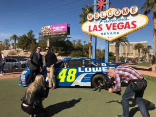 Champion's Week Day 1: Las Vegas landmarks -- and ice cream