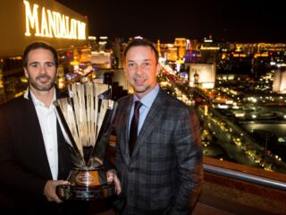 Inside look: Johnson, Knaus explore Vegas